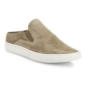 Vince Verrell Slide On Sneakers Tan Suede size 7